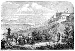 Vorgebirge Karmel mit dem Eliaskloster