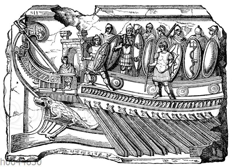 Römisches Kriegsschiff