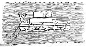 Assyrisches Floß