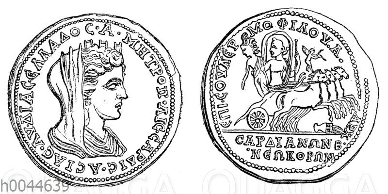 Münze von Sardes
