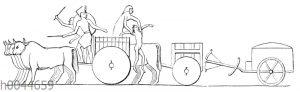 Ägyptischer Reisewagen