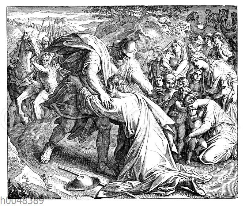 Versöhnung Jakobs mit Esau