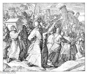 Eroberung und Zerstörung der Stadt Jerichow