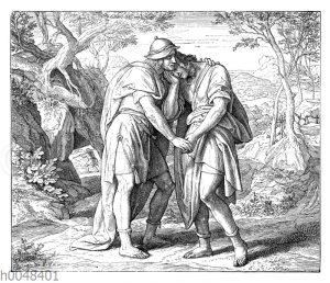 Freundschaft Jonathans und Davids