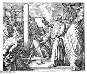 Salomo baut das Haus des Herrn