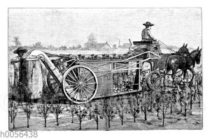 Baumwollerntemaschine