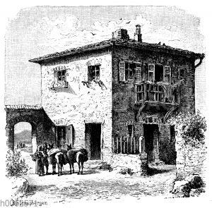 Landhaus im Peloponnes