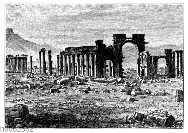 Ruinen von Palmyra
