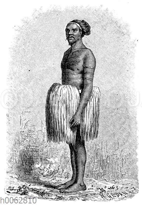 Häuptling von den Marshallinseln