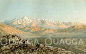 Aconcagua-Kette mit den östlichen Vorbergen