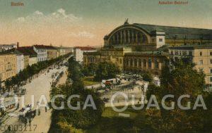 Berlin: Anhalter Bahnhof
