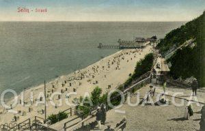 Sellin auf Rügen: Strandansicht