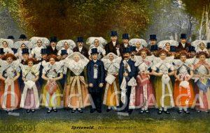 Spreewald: Hochzeitsgesellschaft