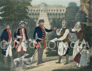 Friedrich der Große und der Mühlenbesitzer von Sanssouci