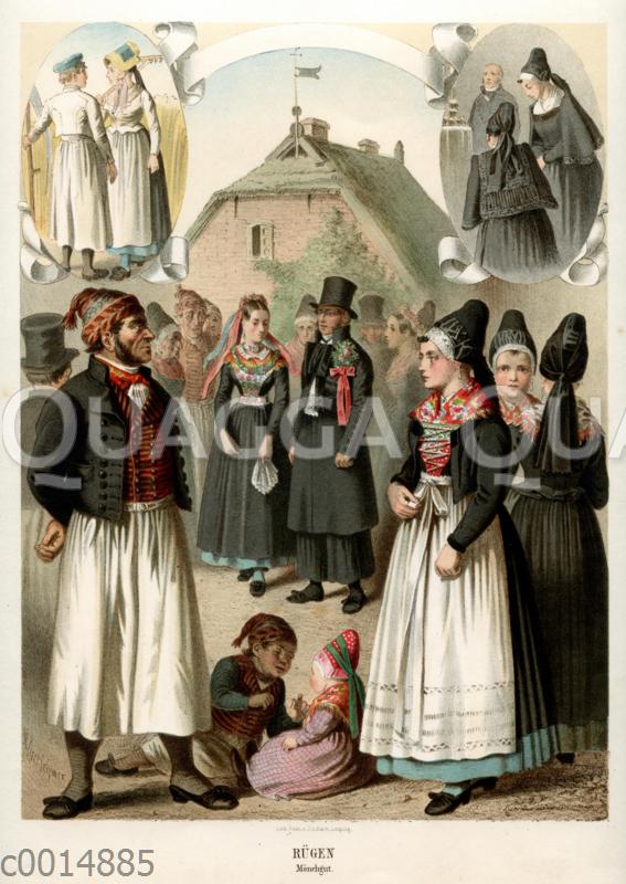 Rügen: Trachten des Mönchguts