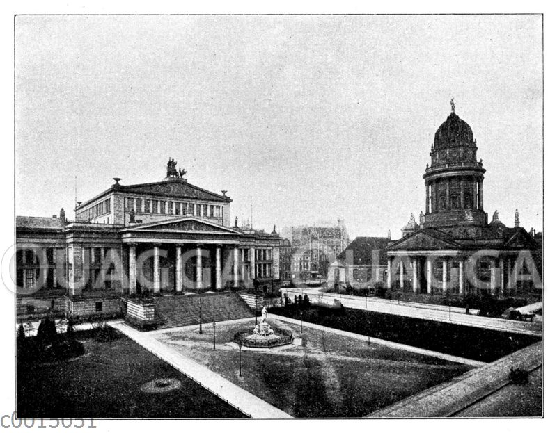 Schillerplatz in Berlin