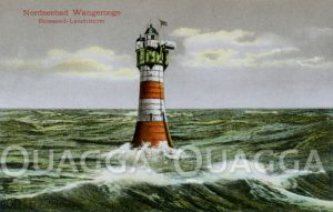 Leuchtturm Roter Sand vor Wangerooge