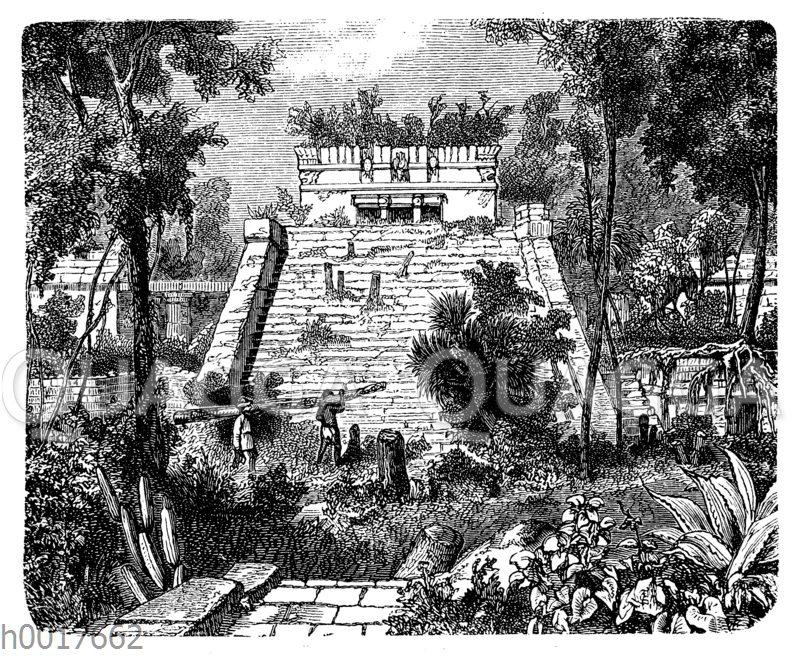 Ruinen des Palastes von Tulum