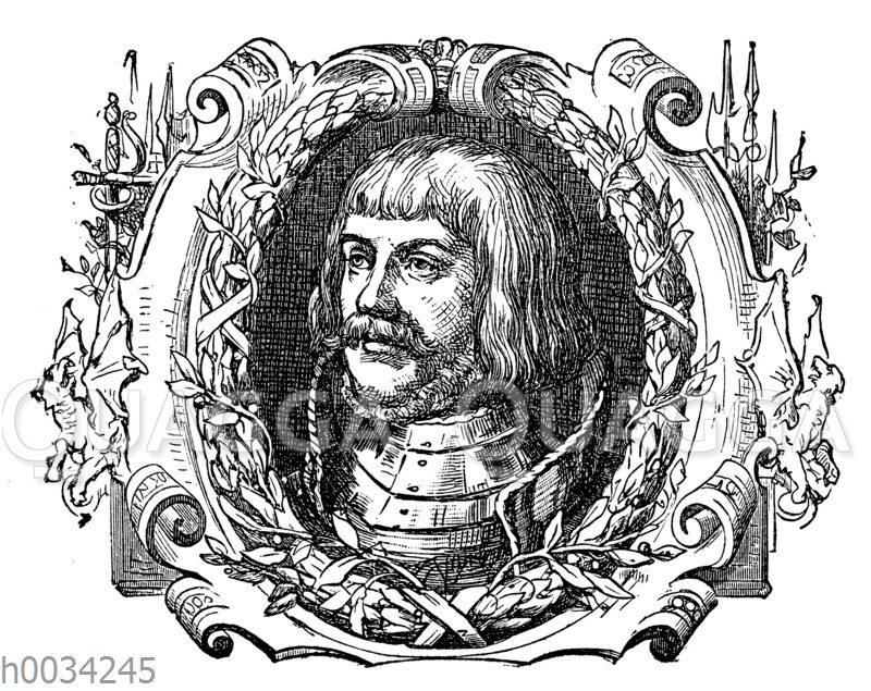 Ulrich von Hutten (nach einem Kupferstich)