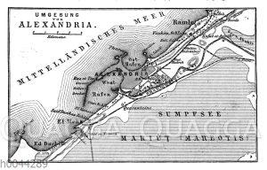 Umgebung von Alexandria