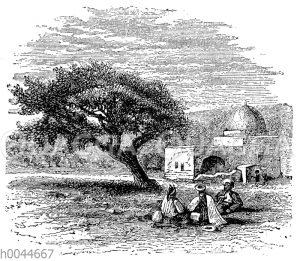 Grabmal der Rahel bei Bethlehem