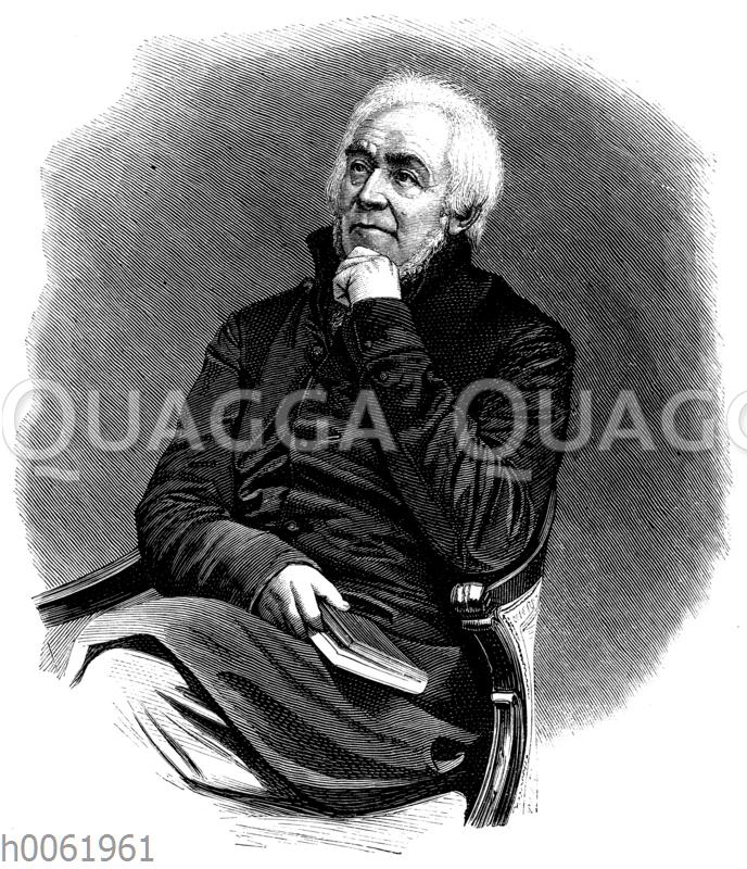 Ernst Moritz Arndt im Jahre 1818