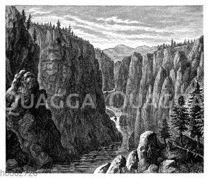 Canon in den Felsengebirgen