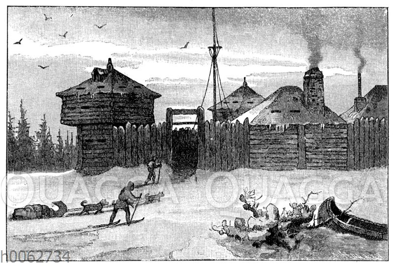 Handelsposten und Fort der Hudsonbaigesellschaft