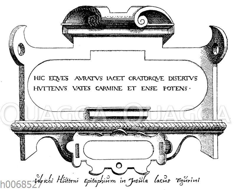 Epitaph Ulrich von Huttens