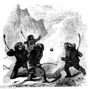 Ballspiel der Eskimo