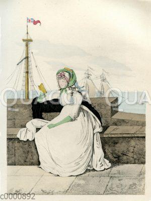 Damenmode um 1795