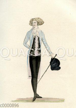 Herrenmode um 1790