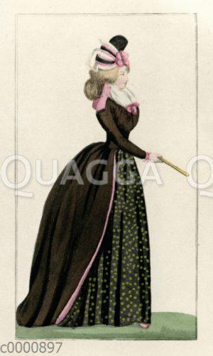 Damenmode um 1793