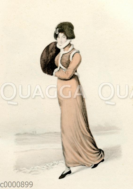 Damenmode um 1812