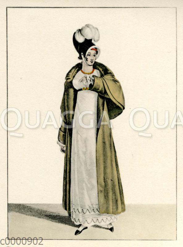 Damenmode um 1810