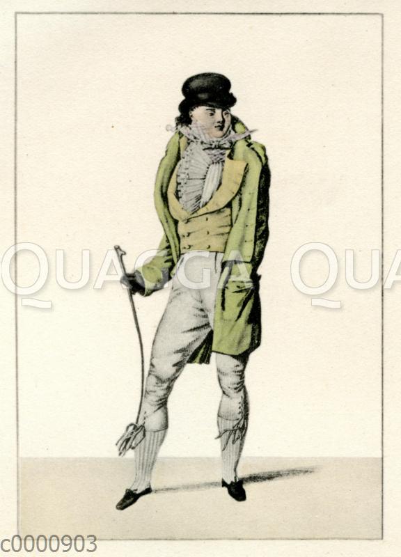 Herrenmode um 1810