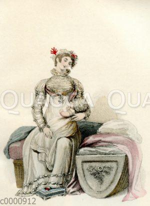 Damenmode um 1814