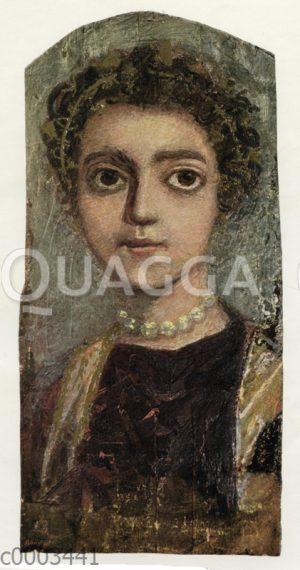 Weibliches Bildnis aus Al Fayum