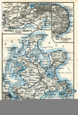 Karten: Rügen