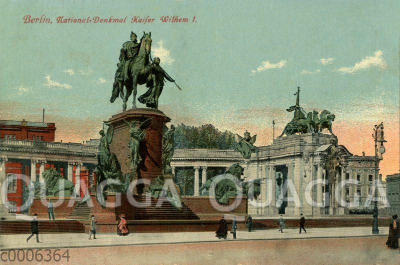 Berlin: Nationaldenkmal_ Kaiser Wilhelm I.