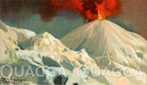 Neapel: Ausbruch des Vesuvs am 3. Dezember 1895
