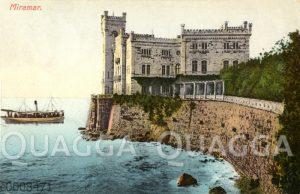Schloss Miramare bei Triest