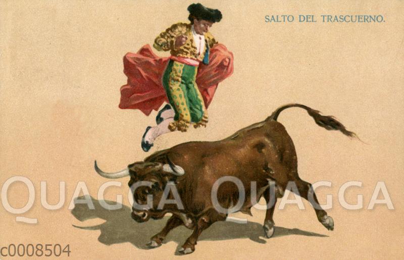 Stierkampf: Sprung über den Stier