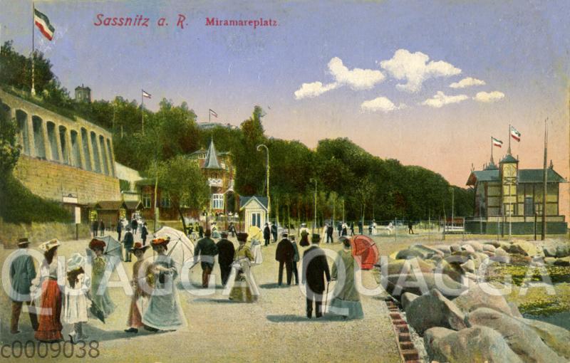 An der Promenade in Sassnitz auf Rügen