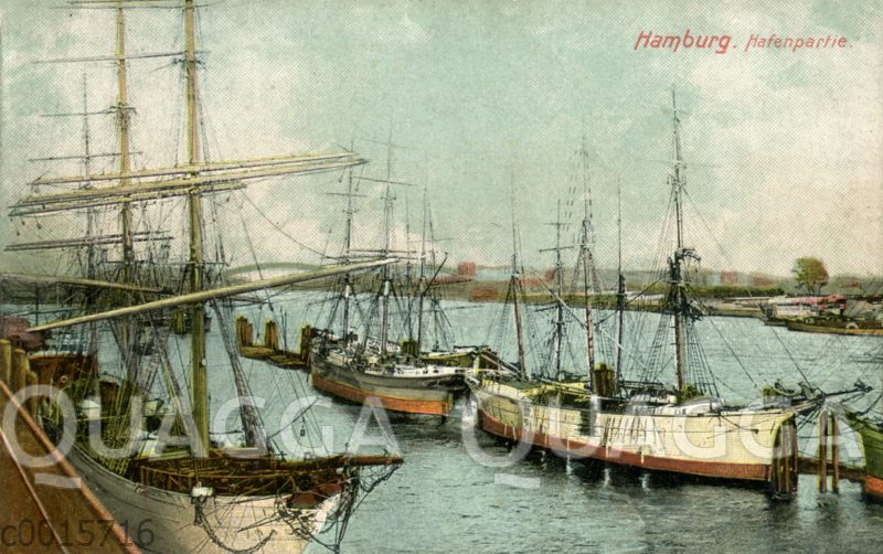 Hamburg: Hafenpartie mit Segelschiffen