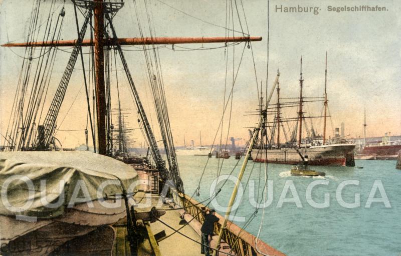 Hamburg: Segelschiffhafen