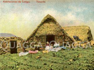 Teneriffa: Einfache Steinhäuser auf dem Land