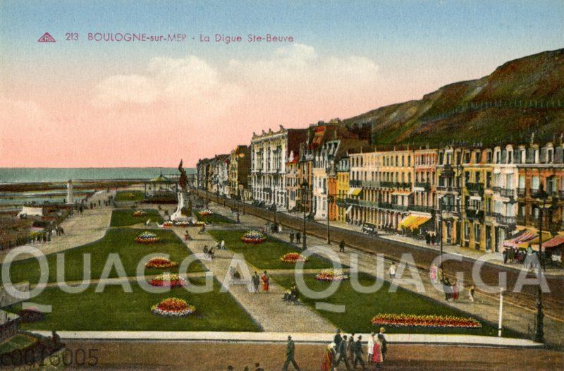 Boulogne-sur-mer: La Digue Ste-Beuve