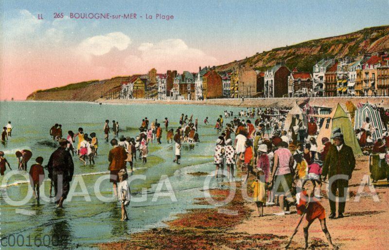 Boulogne-sur-mer: La plage