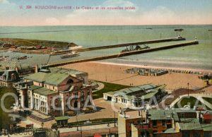 Boulogne-sur-mer: Le Casino et les nouvelles jetées